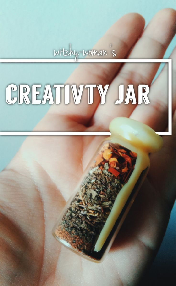 • basil - creativity • rosemary - creativity • nutmeg - confidence • spearmint - mental clarity • chili pepper flakes - energy I want to do this jar a little differently than my others. I want you to craft and make this jar in your creative space. I...