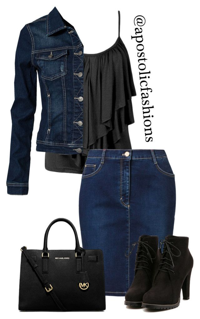 """Apostolic Fashions #1058"" by apostolicfashions ❤ liked on Polyvore featuring Betty Barclay, ONLY, MICHAEL Michael Kors, women's clothing, women's fashion, women, female, woman, misses and juniors"