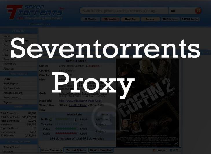 Seventorrents proxy 2018 – 7torrents unblocked – Seventorrents