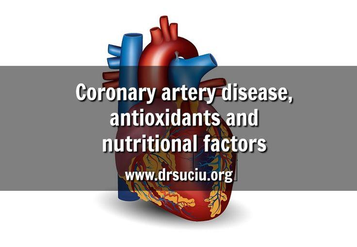 Picture Coronary artery disease, antioxidants and nutritional factors - drsuciu