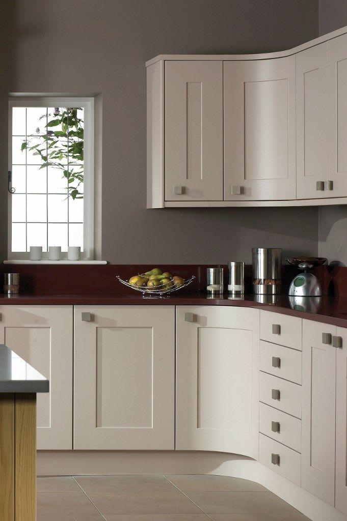 Burbidge\u0027s Lansdowne Kitchen painted in Hessian - Curved Doors & 55 best Burbidge\u0027s Kitchen Doors images on Pinterest | Craftsman ... Pezcame.Com