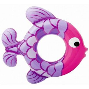 Salvagente Gonfiabile a Forma di Pesce Rosa - Giochi Gonfiabili per la Piscina e il Mare. Inflatable Swimming Fish Ring Pink - Inflatable Toys for Pool and Beach. http://www.coocoolooo.com