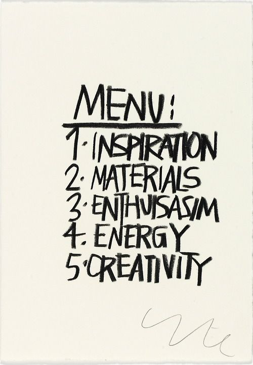 #menu #inspiration #energy