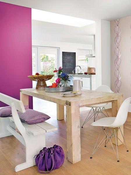 lila macht laune wohnideen in der trendfarbe - Schlafzimmer Beige Lila