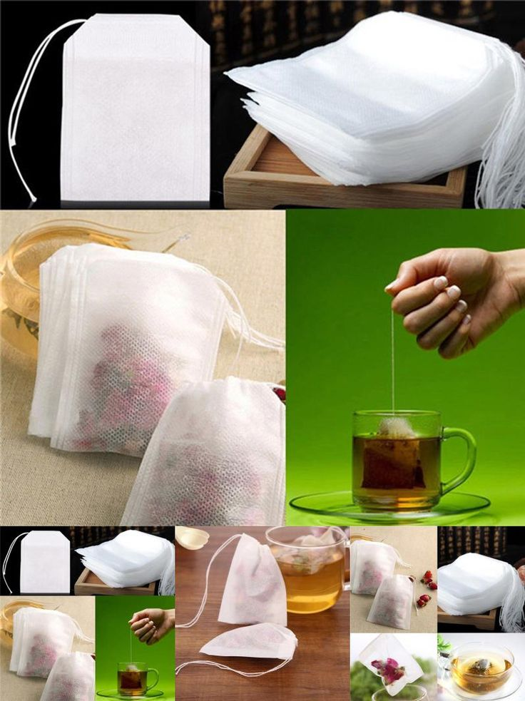 [Visit to Buy] 100pcs Non Woven Empty Tea Bags Seal Filter