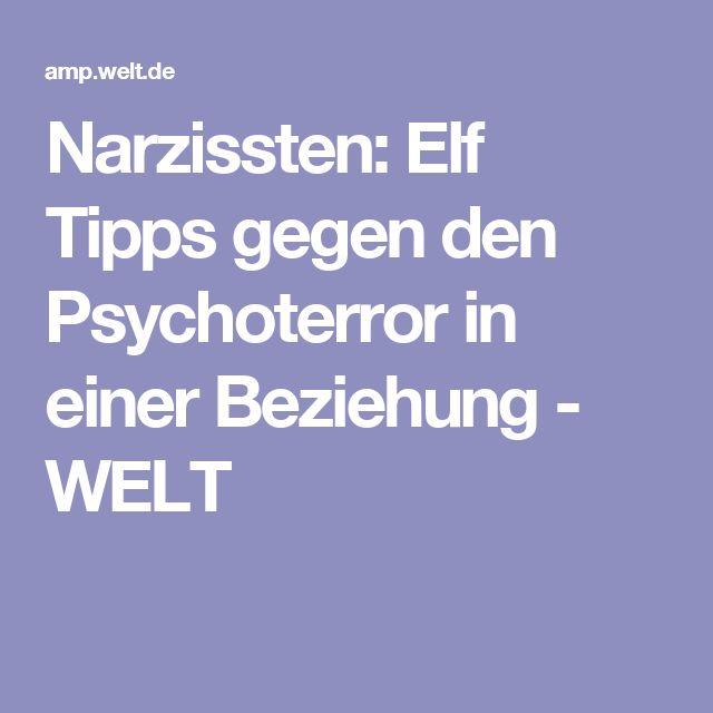 Narzissten: Elf Tipps gegen den Psychoterror in einer Beziehung - WELT