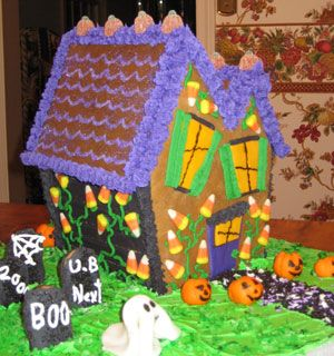 17 Best Haunted Gingerbread Houses Images On Pinterest