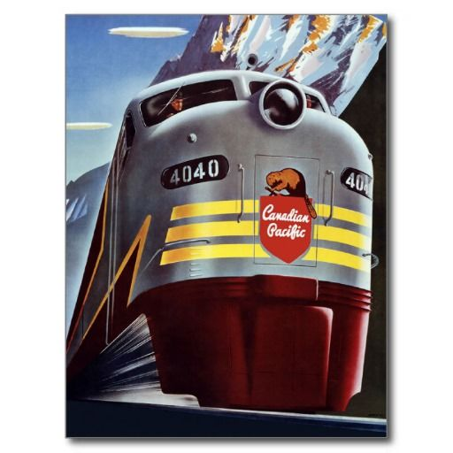 Retro Travel Postcards | Canada Vintage Travel Postcards