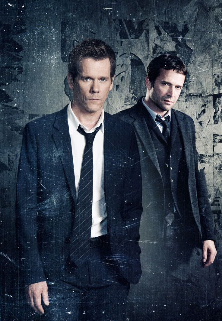 The Following with Kevin Bacon (centre of the universe)