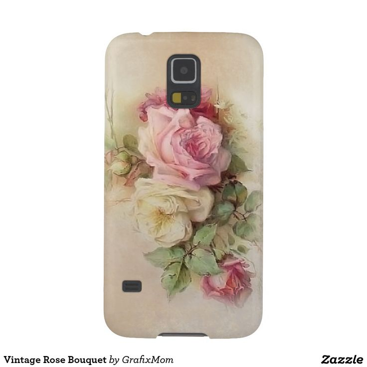 Vintage Rose Bouquet Cases For Galaxy S5
