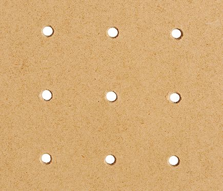 Panel perforado DE 90CM DE ALTO