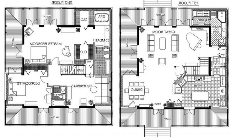 French house plans  French houses and Country french on Pinterest