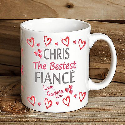 personalised #valentines gift #fiance gift mug #birthday gift #valentine for him,  View more on the LINK: http://www.zeppy.io/product/gb/2/281915860788/