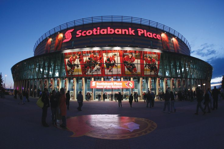 BEEN - Ottawa, Ontario, Canada (Kanata).  Scotiabank Place, home of the Ottawa Senators