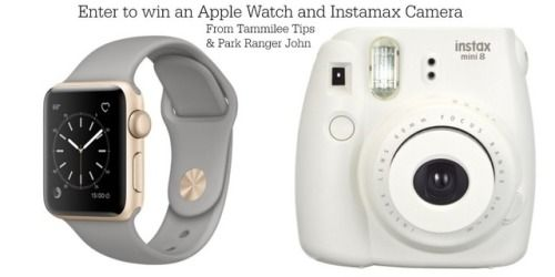 Win an Apple Watch and a Fujifilm Instax Camera! {US} (07/25)... IFTTT reddit giveaways freebies contests