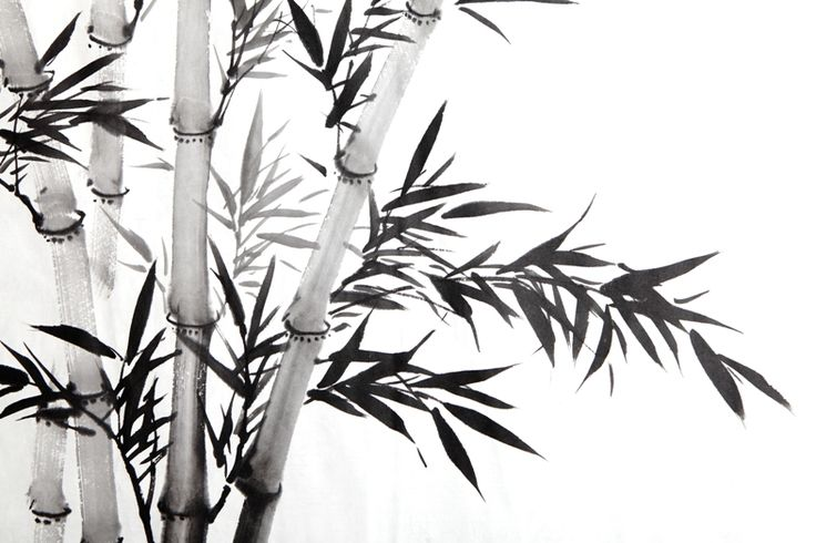 Traditional Chinese #Calligraphy art on #bamboo leaf...