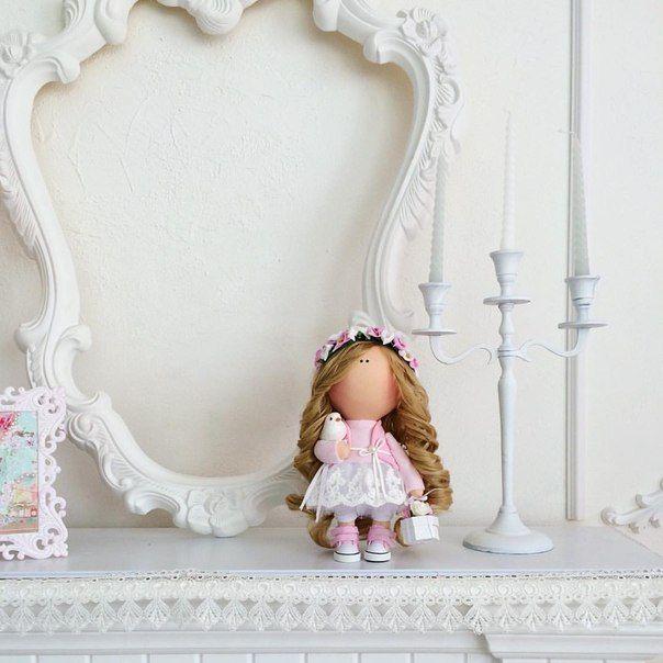 Интерьерные куклы Татьяны Погиба