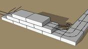 sand bag house construction | Earthbag Construction