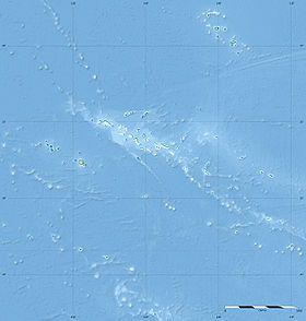 Voir la carte topographique dePolynésie française