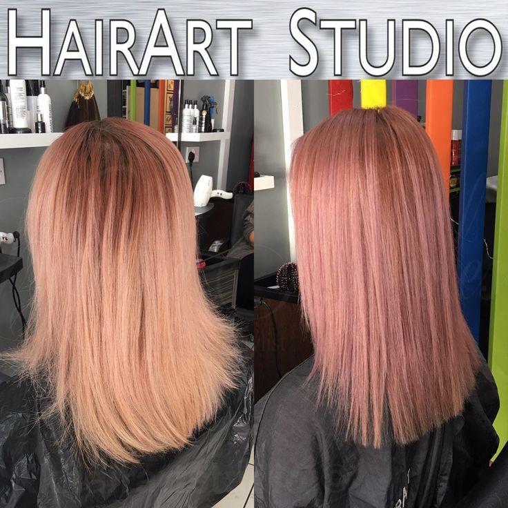 Pink hair!!!