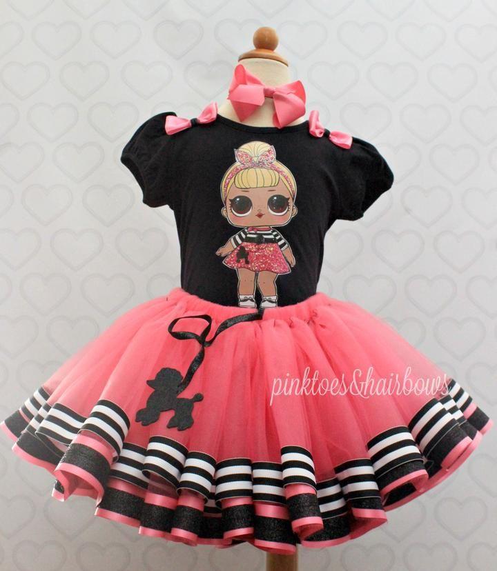 Sis Swing Lol surprise doll tutu set-lol surprise outfit- lol surprise – Pink … – Birthday