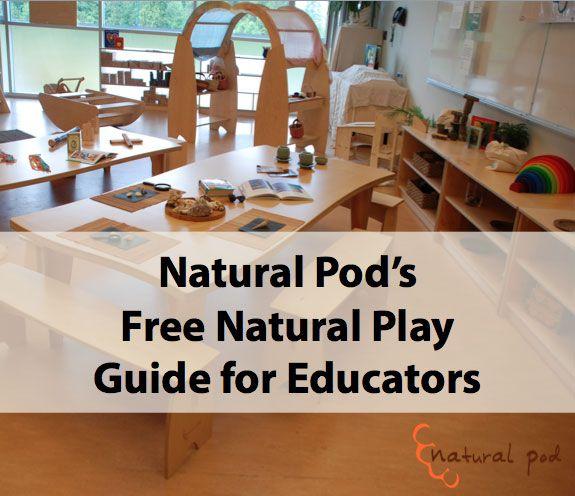 FREE Natural Play Guide For Educators