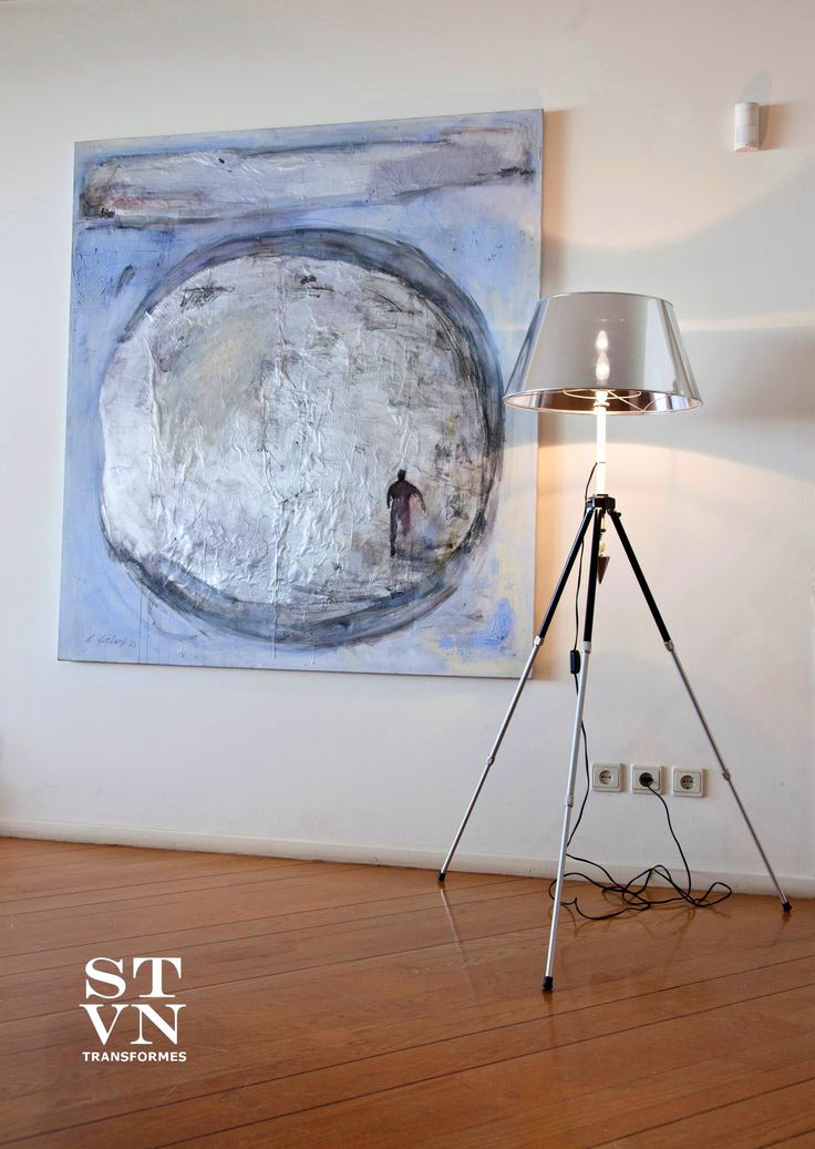 'FOTO' #Floor_Lamp #Φωτιστικο_Δαπεδου 1960 Photographers' Tripode. Upcycling objects into furniture, utility and decorative items, for private or professional use. #furniture #lighiting #accesssories #upcycled #recycled #one_of_a_kind.