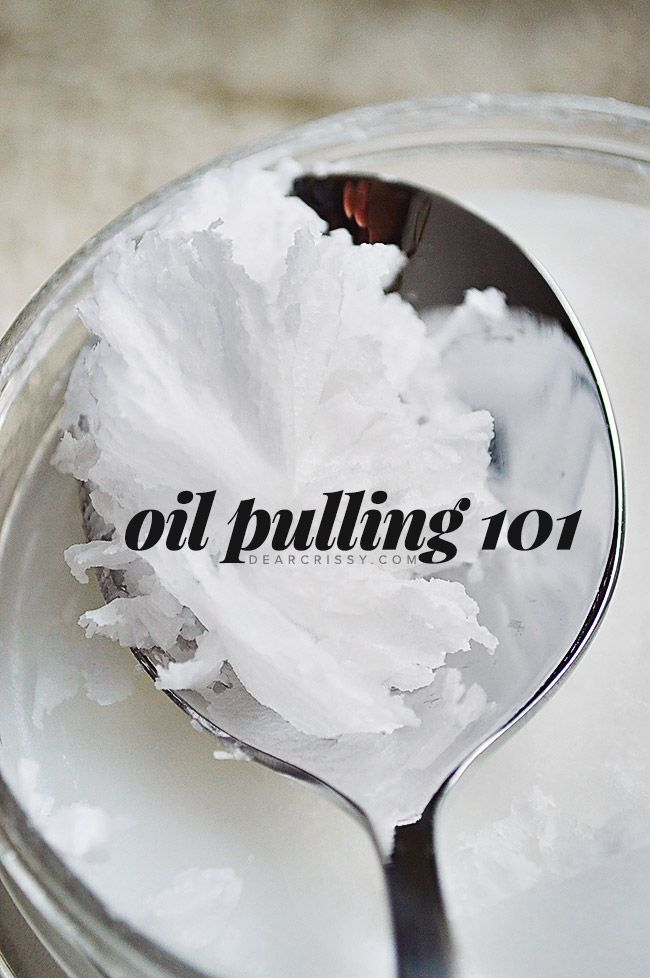 Interested in learning more about oil pulling? Find out why I love oil pulling with coconut oil and learn all the tips and tricks!