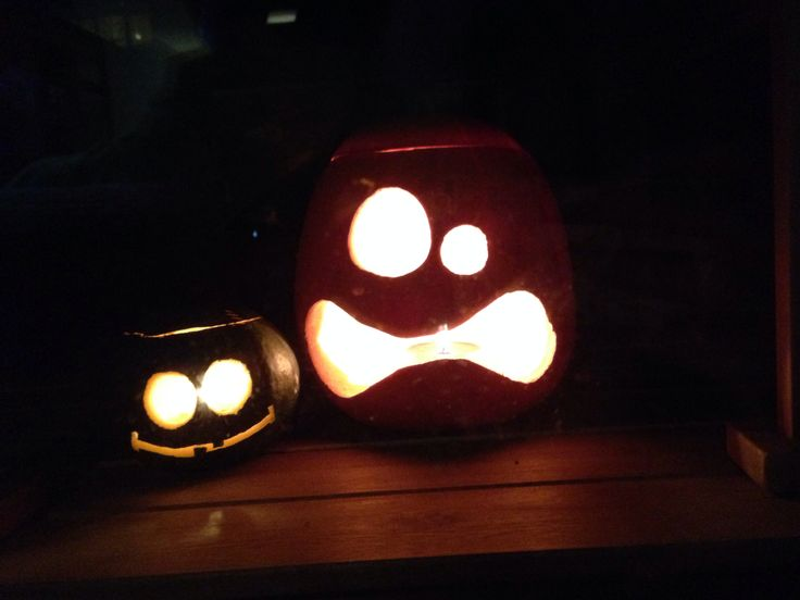 Pompoen & pompoentje  Made by Ferry :-)