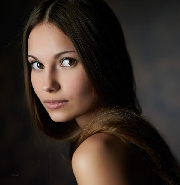 Gorgeous Portraits By Mikhail Grafik Cuded Portrait Portrait Girl Most Beautiful Eyes