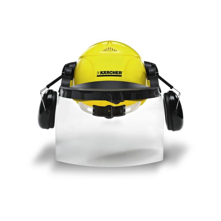 A Kärcher védősisak-készlet kiváló minőségű sisak, arcvédővel és tokkal kényelmes viselést és védelmet biztosít. https://www.kaercher.com/hu/professional/munkavedelem/hallasvedo-es-fejvedo-eszkoezoek/vedosisak-keszlet-60255120.html