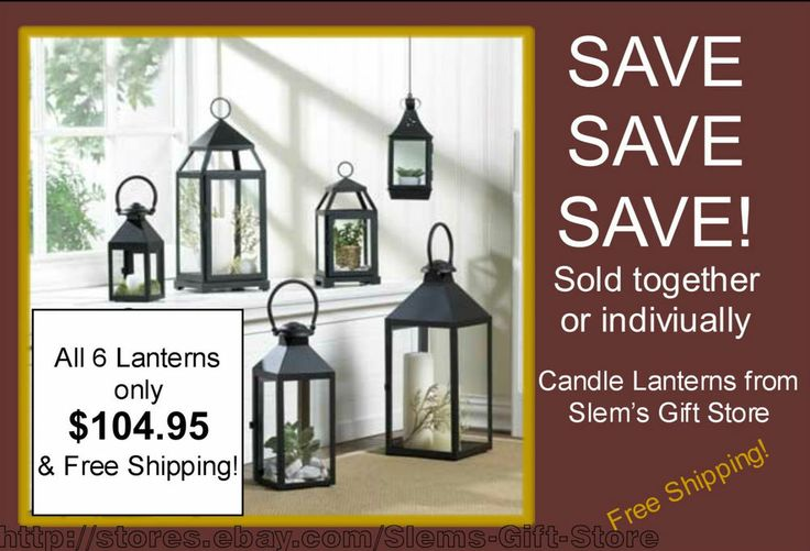 CANDLE LANTERNS BLACK REVERE AND/OR CONTEMPORARY CANDLEHOLDERS DISPLAY CASES  All items available in bulk at discounted prices!! http://stores.ebay.com/Slems-Gift-Store or order directly from me at dslem3@yahoo.com for 20% off anything in the store!
