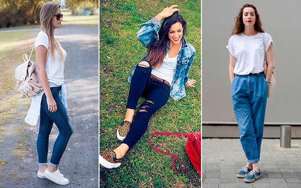 Volta às aulas: 9 ideias de looks para você usar com a sua T-shirt básica do uniforme - Moda - CAPRICHO