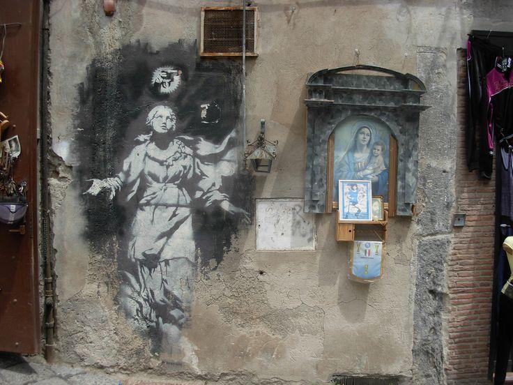 Banksy, Neapol