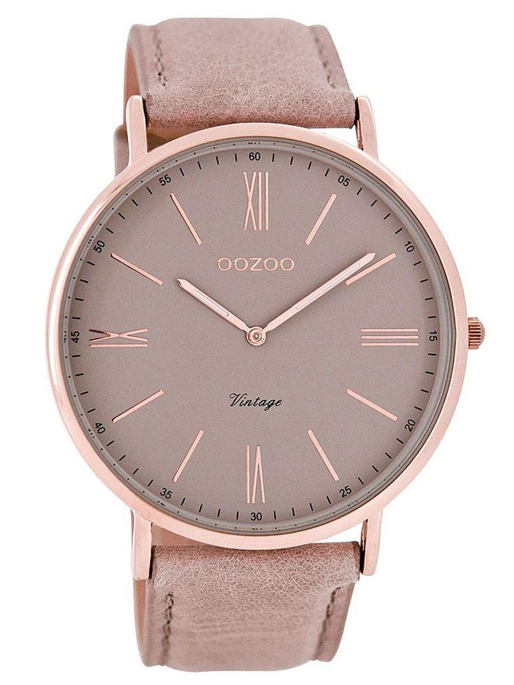 Oozoo C7342 Vintage Damenuhr Altrosa 9879012502489