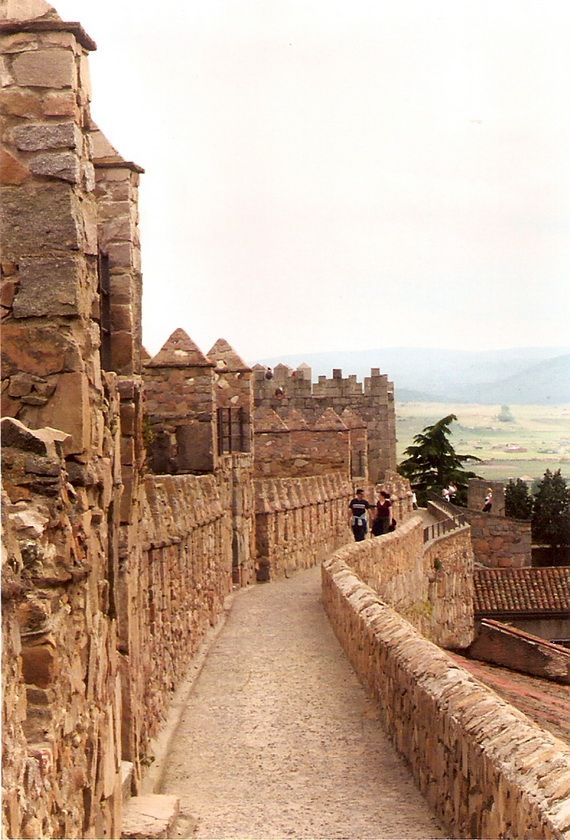 Murallas de Ávila (Walls of Ávila), 11th-14th centuries. Ávila, Castilla y León, Spain.