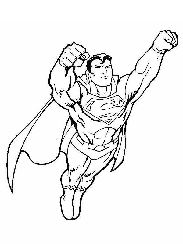 Coloriage Super Héros Marvel Line Art Superhero Coloring