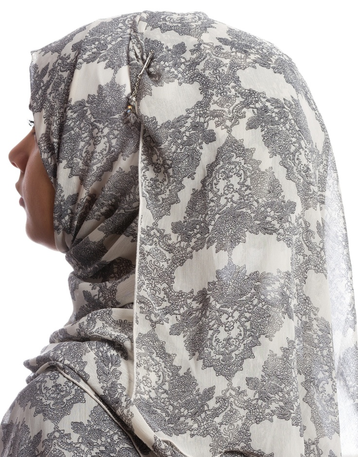 Vintage Lace Hijab