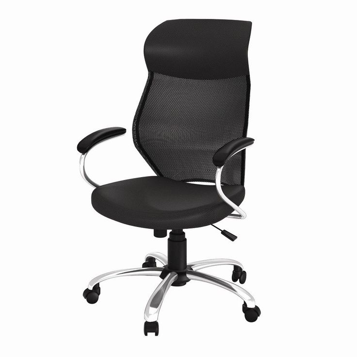 highback mesh conference chair with arms