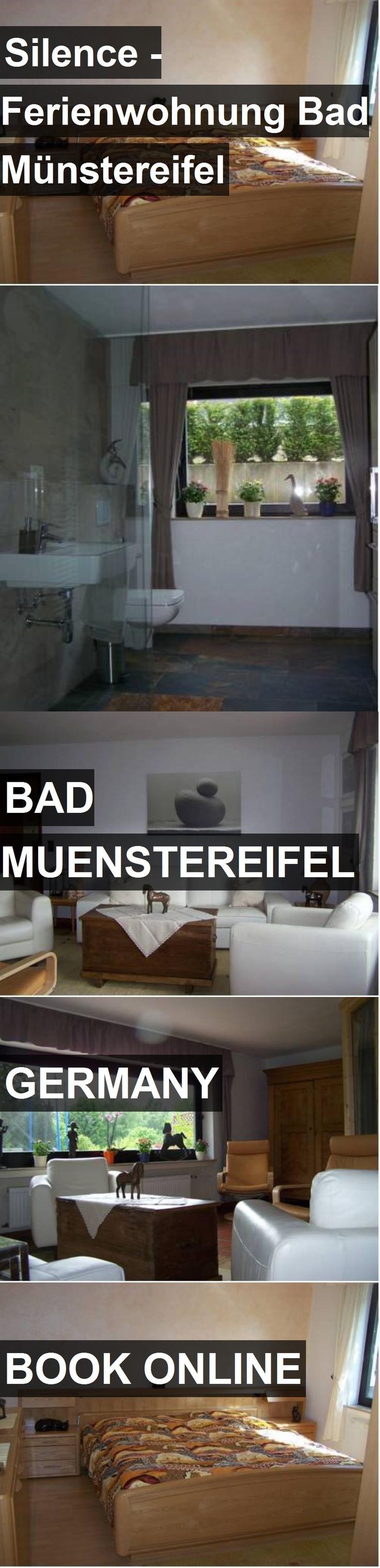 Hotel Silence - Ferienwohnung Bad Münstereifel in Bad Muenstereifel, Germany. For more information, photos, reviews and best prices please follow the link. #Germany #BadMuenstereifel #Silence-FerienwohnungBadMünstereifel #hotel #travel #vacation