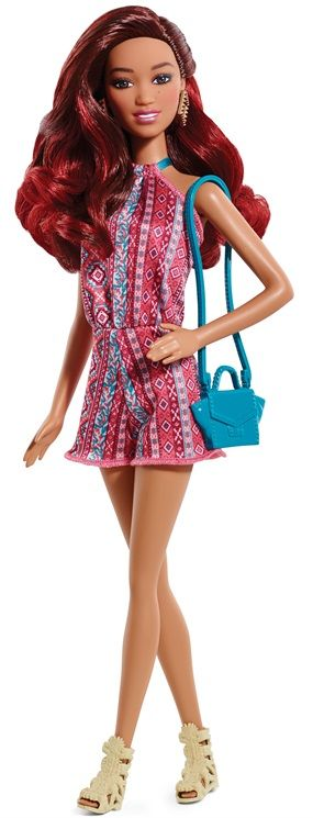 Barbie Fashionistas 2015 Rosa Barbie Fashionistas doll