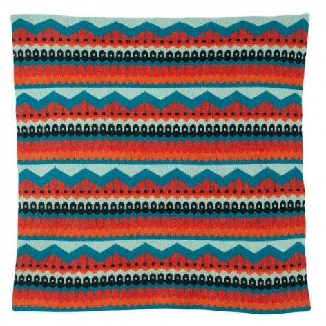 Your wee one will be dreaming of the aurora borealis when she's snuggled in this Icelandic patterned Hofdi Blanket. Even under the chilly northern sky, she'll be bundled and cozy in soft, 100% lambswool.