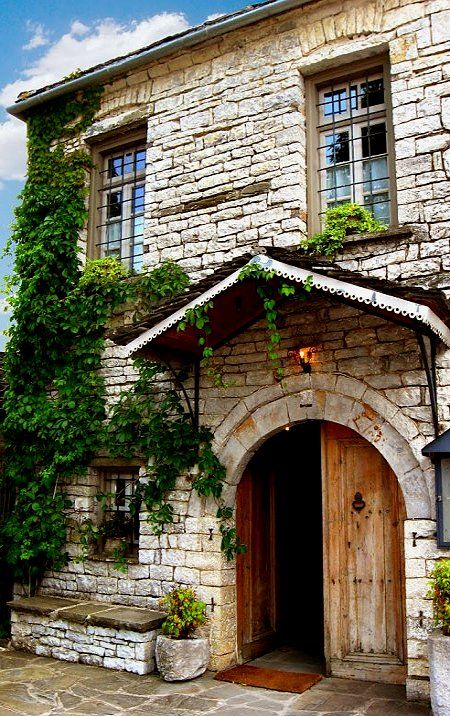 Traditional House in Papigo village, Epirus