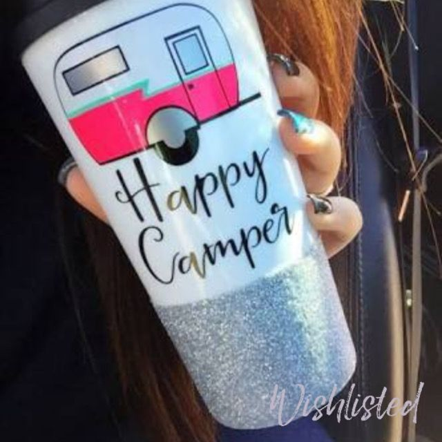 wishlisted_app Does he or she love #camping? This cute #travel mug make a great #valentinesDay #gift for your #happycamper #valentinesgiftideas #giftsforhim #giftsforher #giftideas #valentine #wishlisted