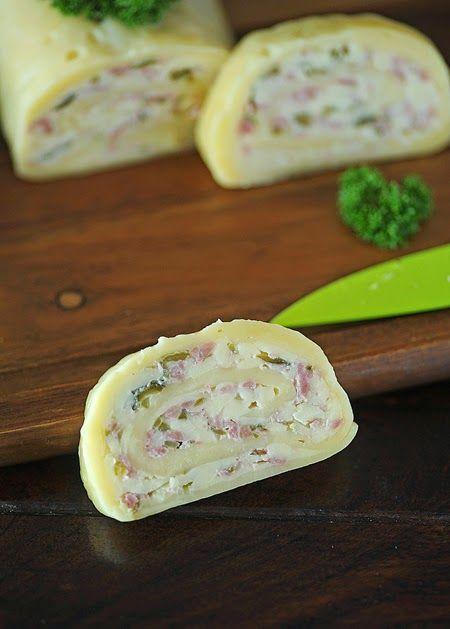 Daddy Cool!: Συνταγή Ρολό τυλιχτό με τυρί! Η πιο πρωτότυπη ιδέα που έχετε δει για μπουφέ!