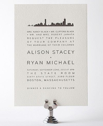 17 best images about wedding invitations for boston wedding in the