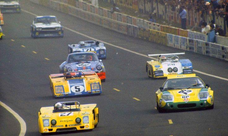 Gijs van Lennep, Herbert Müller - Porsche 911 Carrera RSR - 1973 - 24 hr du mans