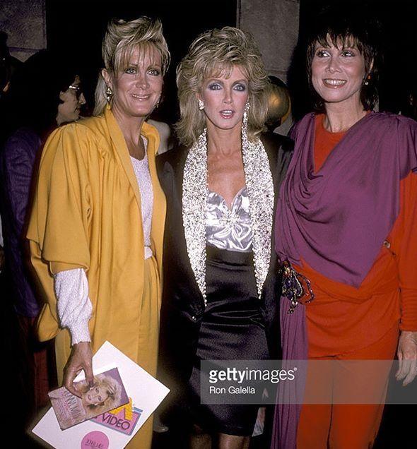 Joan Van Ark, Donna Mills, Michele Lee of 'Knot's Landing,' in the '80s.