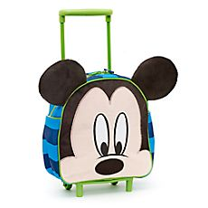 Mickey Kids Rolling Suitcase