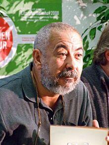 Leonardo Padura, novelista y periodista cubano, conocido especialmente por sus novelas policiacas del detective Mario Conde. Premio Princesa de Asturias de las Letras, 2015.